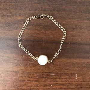 Jewelry - Gold and White bracelet